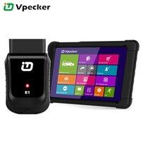 mitsubishi tablet venda por atacado-VPECKER E1 V10.5 Ferramenta de Diagnóstico Wi-fi OBD OBD2 Scanner Easydiag ABS Airbag SRS Reset Óleo DPF EPB BMS Tablet Diagnosticar Atualização Gratuita