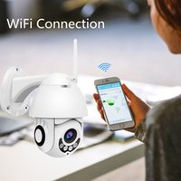 Wholesale Anspo Full HD P IP PTZ Camera WiFi Speed Dome CCTV Camera Waterproof Wireless Security Video Audio Camara US UK EU AU Plug