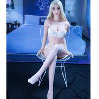 maniquíes de cuerpo completo para el sexo. al por mayor-140cm 148cm 158cm 168cm cuerpo completo suave TPE silicona sexo muñeca japonesa hembra amor muñeca para hombre real coño tetas maniquí pecho grande