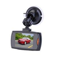cámara del tablero de detección de movimiento al por mayor-La cámara del coche HD lleno del coche DVR Grabador de Video Cam Dash 120 grados de ángulo ancho de detección de movimiento de visión nocturna