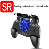 Wholesale hand game controller for sale - Group buy 2019 Hot SR Cooler Cooling Fan Gamepad Pubg Telefoon Controller Hand Grip Gampads Smart Telefoon Trigger Game Fire Doel Sleutel Voor PUBG