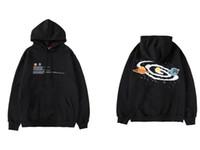 Wholesale top big bang resale online - Universe Big Bang Print Fleece Pullover Hoodies Sweatshirts Men Casual Hooded Hoodie Hip Hop Streetwear Fashion Tops