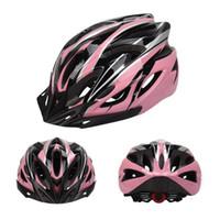 Wholesale woman mtb helmet for sale - Group buy NEWBOLER Bicycle Helmet Pink For Women Men Ultralight Integrally molded Helmet MTB Road Bike Breathable With Sun visor Helmets