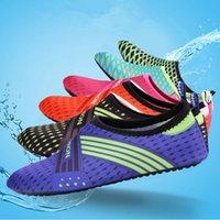 hızlı kuruyan ayakkabılar toptan satış-Su Sporları Dalış Ayakkabı Çocuk Yetişkin Anti Patinaj Plaj Çorap Nefes Kumaş Çabuk Kuruyan Yüzme Sörf Islak Su Ayakkabı ZZA549