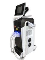 satılık epilasyon makineleri toptan satış-2019 Üst satış OPT IPLND YAG Lazer% RF 3 1 çok fonksiyonlu güzellik makinesi epilasyon cilt gençleştirme için yüz germe