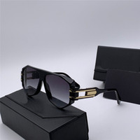 Wholesale rectangular sunglasses for sale - Group buy New popular men pilot sunglasses rectangular hollow frame sunglasses fashion simple design style with original glasses case