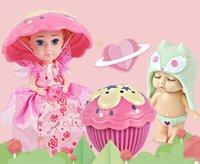 neue heiße puppe großhandel-Engel New Hot Schlafen Baby Dekoration Kuchen Puppe Prinzessin Spielzeug Kreative verkleiden Mädchen Dekorieren Geschenk