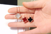 Wholesale ml jewelry resale online - 316L titanium steel gold plated White agate Black Onyx flower love Necklace gold Fine Natural red agate Jewelry for women ML
