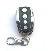 Wholesale auto key cloning for sale - Group buy Wireless Remote Auto Control Cloning Gate for Garage Door Duplicator Metal Button Portable Key Copy Remote Control