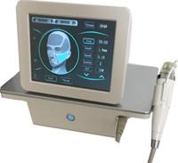 Wholesale wrinkle machine for skin resale online - fractional rf microneedle machine skin tighten wrinkle removal therapy Fractional RF Skin Lifting Machine for salon use