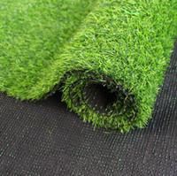 ingrosso tappeto falso-Tappeto erboso 100 cm * 100 cm verde prati artificiali piccoli tappeti erbosi falso soda casa giardino muschio per la casa piano decorazione di cerimonia nuziale DH0441