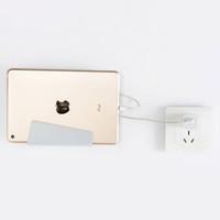 iphone halter für wand großhandel-Universal-Wandhalterung Handyhalter Ladestation mit Halterung klebrig für iPhone Xs Max X Plus