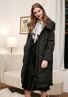 abnehmbare ärmel mit kapuze jacke groihandel-Hooded abnehmbare Hülse seitlichen Reißverschlusses lange unten Jacke
