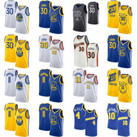 tim hardaway achat en gros de-NCAA Stephen Curry 30 Klay Thompson 11 Basketball Jersey Hommes Chris Webber 4 Tim Hardaway 10 Basketball shirt