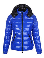 женская коричневая парка оптовых-Женщины зимы вскользь вниз куртки вниз пальто женщин Открытый Теплый перо платье Зимнее пальто верхней одежды куртки