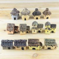 ingrosso giardino gnome vendita-Vendita calda 3 cm carino resina artigianato casa fairy garden miniature gnome micro paesaggio decor bonsai per la decorazione domestica
