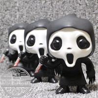 gebrauchte spielwaren großhandel-Funko Pop Second -Hand Horror Kinder Spielzeug Schrei -Ghostface Vinyl Action-Figur Sammler Modell Spielzeug Halloween-Geschenk