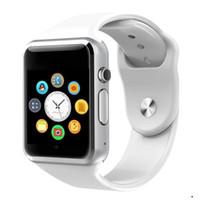 androide preise großhandel-A1 Smartwatch Smart Uhren Niedriger Preis Bluetooth Wearable Männer Frauen Smart Watch Mobile mit Kamera für Android Smartphone Smartwatch Kamera