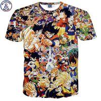 top listesi toptan satış-Mr.1991 Yeni Liste Karikatür Dragon Ball 3d Baskılı çocuğun T-shirt 7-20 Yıl Genç Büyük Çocuklar çocuk Tshirt Na9 Y19051003