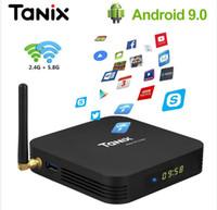 Wholesale bluetooth hdmi tv for sale - Group buy Tanix TX6 TV Box Android GB GB DDR3 Allwinner H6 EMMC Bluetooth Smart TV Box