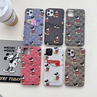 Wholesale pro smartphone for sale - Group buy Luxury Mouse Designer Phone case for IPhone Pro X Xs Max Xr plus plus s Plus Card Slot Cases pro Trendy Smartphone Back Shell