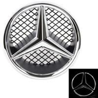 w203 Emblem soporte de acero inoxidable m mercedes emblema F capó w202 w124,