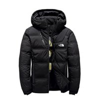 ingrosso l'uomo d'inverno l'oca in giù parka-Novità The North Winter Men piumini Parka Warm Goose Down Cappotti Soft shell Cappelli spessi capispalla outdoor maschili giacche di abbigliamento maschile