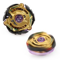 Wholesale gold beyblade toys online - Gold Color D Beyblade Burst B without Launcher Box Metal spinning top Booster Top Starter Gyro Toy Kid Gift