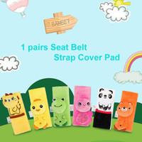 ingrosso cuscino della cintura-1 paio di protezione per cintura di sicurezza per seggiolino auto per passeggino per auto per bambini Carrozzina di protezione per cuscino imbottito