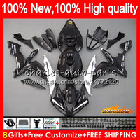 Wholesale yamaha r1 white green resale online - Body For YAMAHA black silvery YZF R CC YZF YZFR1 HC YZF1000 CC YZF R1 YZF R1 Fairings kit