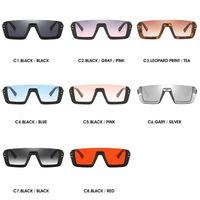 Wholesale personalized sunglasses for sale - Group buy 8 Colors Personalized Half Frame Sunglasses Trendy Unisex Sunglasses Fashion Square Sunglasses Outdoor Eyewear CCA11719