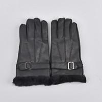 овчарки оптовых-Шерстяные перчатки из натуральной кожи из овечьей шерсти Перчатки из овечьей шерсти Элегантные теплые перчатки