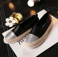 mode pflege schuhe großhandel-Fashion Flat Black Schuh für Frauen Casual Slip on Loafers Ballerina Flache Krankenschwester Schuhe Frau Espadrille Tenis Plus Size xx7