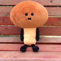 ingrosso bambola calda giapponese delle ragazze-Bambini giapponese divertente Namezirou funghi peluche Cartoon creativo peluche cuscino decorazione della casa ragazzi ragazze giocattolo regalo vendita calda