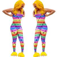 kadın için tek parça pantolon toptan satış-Marka Tasarımcısı Kadın Tulumlar Yaz Straplez Tulum Trendy Seksi Gece Kulübü Tulum Bodysuit Bodycon Yaz giyim Tek Parça Pantolon 704