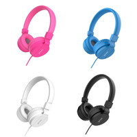 Wholesale apple computer retail resale online - New DEEP BASS Headphones Earphones mm AUX Foldable Portable Adjustable Gaming Headset For Phones MP3 MP4 Computer PC Music Gift Retail