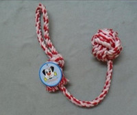 Wholesale string cleaning for sale - Pets Toys Cotton String Handle Cotton Rope Dog Toys A Molar Tooth Cleaning