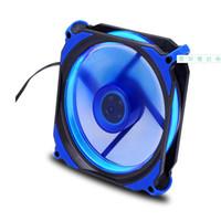 Wholesale cool desktop cases resale online - hot x120x25mm LED Cooling Cooler Desktop Computer Case Fan Lower Noise Cooling Fan Silent For Desktop Computers