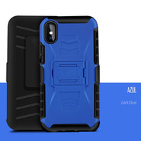 Wholesale galaxy s5 kickstand cover for sale - Group buy 3 in Combo Defender Belt Clip Armor Case for Samsung Galaxy S7 Edge S4 S5 S6 Note Cover with Kickstand
