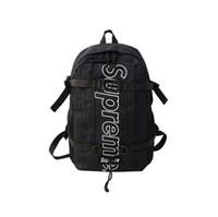 сумочки стиля европа оптовых-Бесплатная доставка 2019 Мода Европа и Америка стиль путешествия многоцелевой сумка нейлоновые сумки большой емкости рюкзак