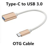 otg cable usb femelle achat en gros de-Adaptateur de chargeur de transfert de câble de données OTG de type C OTG de 15 cm, adaptateur mâle à femelle pour MacBook Letv avec emballage de vente au détail