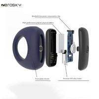 Wholesale adult phones for sale - Group buy Zerosky Wearable Smart Penis Ring By Phone Cockring Vibrating Wireless Massage Male Adult Products Sex Toys For Men Y19052502