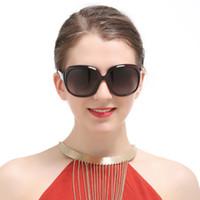 ingrosso occhiali da sole obiettivo polarizzato riflettente-Occhiali da sole oversize Occhiali da sole donna polarizzati Occhiali da sole design femminile Lenti grandi dimensioni Occhiali da sole antiriflesso per donna 367