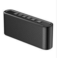 спортивный динамик оптовых-X6 Беспроводная Bluetooth-динамик 8000 мАч зарядное устройство Power Bank Открытый Спорт Micro SD Card USB Flash Для мобильного телефона Смартфон
