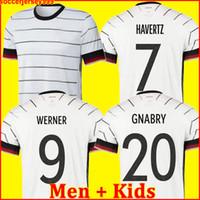 adam gömlek almanya toptan satış-ÜST Almanya 2020 futbol forması Home Away kiti HUMMELS KROOS DRAXLER REUS MULLER GOTZE Avrupa Kupası futbol forması üniformaları erkekler + çocuklar kiti