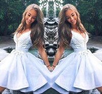 fe87ce17a vestidos de fiesta lindo al por mayor-2019 New Cute Light Sky Blue graduación  vestido 8 Fotos Buscar Similar