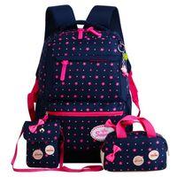 Wholesale cute schoolbags for sale - Group buy 2018 Cute School Bags For Teenager Girls Travel Backpack Kids Princess Schoolbags set Backpacks Schoolbags Mochila Escolar Y19051701
