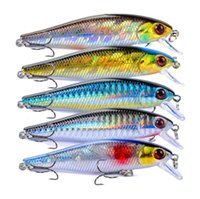 Wholesale fishing lures suspend for sale - Group buy New Realistic Fish Minnow Flash Laser Fishing Lure cm g streamlined body darting action Suspending bait