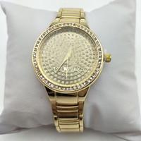 montres de filles cool achat en gros de-2018 Diamant Marque Femmes Montres À La Mode Étudiants De Luxe Filles Montres-Bracelets En Acier Inoxydable Cool Montres Femmes