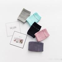 bebek tutkalı toptan satış-Bebek Pamuk Diz Pedleri Tutkal Noktası Tutun Güvenlik Çocuk Örme Koruyucu Dizkapağı Emekleme Koruyucu Giyim Sıcak Çorap